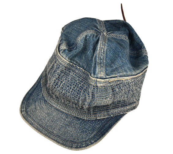 [KAPITAL] 12oz Denim The Old Man And The Sea Cap
