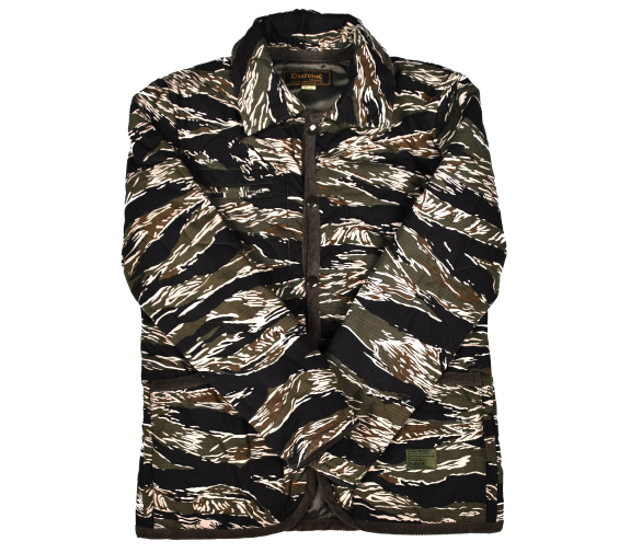 [DIAFVINE] Tiger Camo Quilted Jacket [36]