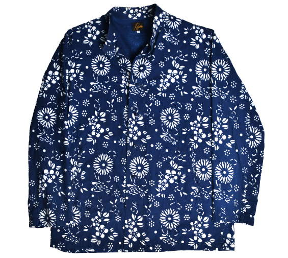 [Rebuild by needles] 17ss Oriental Button Unity Shirt [M]