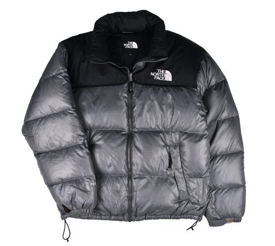 [THE NORTH FACE] 700 NUPTSE DOWN JACKET BLACK/GREY [M]