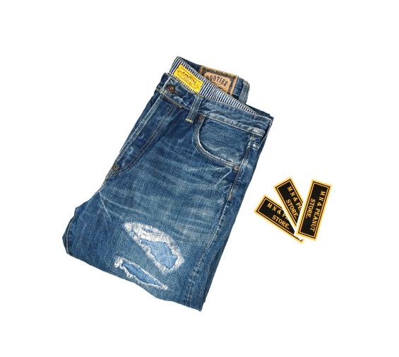 [COOTIE] Washing Damage Denim Jean [M]