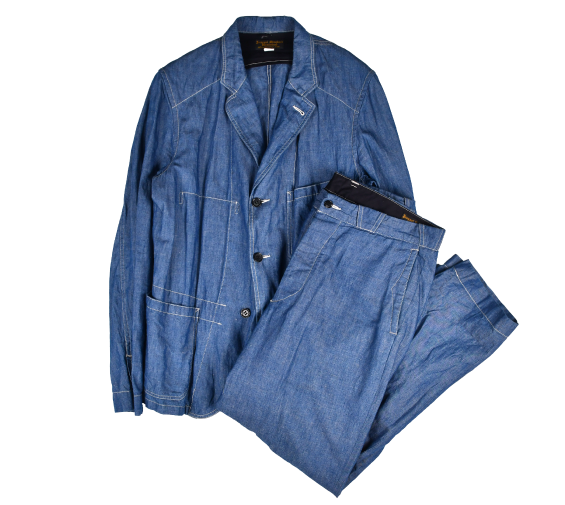 [Journal Standard] J.S Homestead Chambray Setup Jacket[L],Pants[W32]