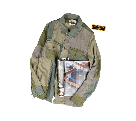[REMI RELIEF] Military Shirt [XL]