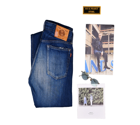 [OMNIGOD] Vintage Denim Pants [3]