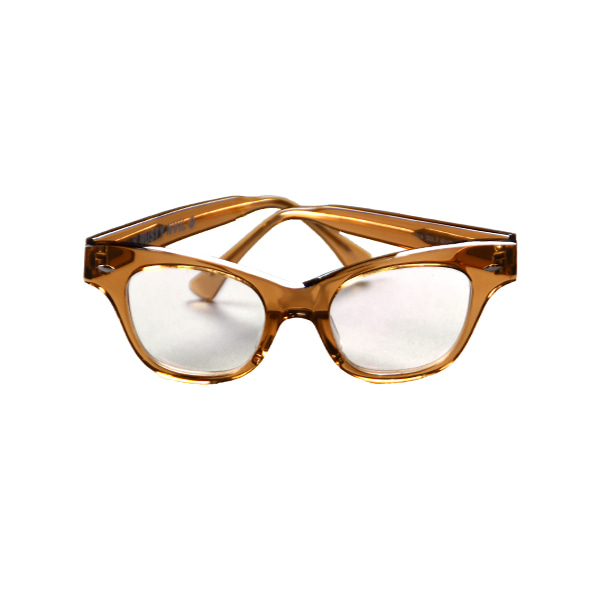 [Rusty Nail] Bronze Clear Eyeglasses [F]