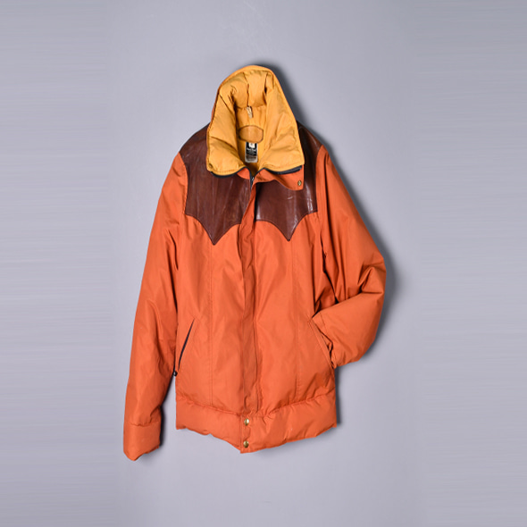 Rocky Mountain Featherbed 70s Vintage Gore-tex Mountain down jacket [42]