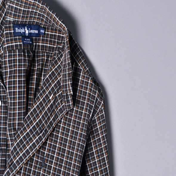 Polo Vintage Check shirts [L]