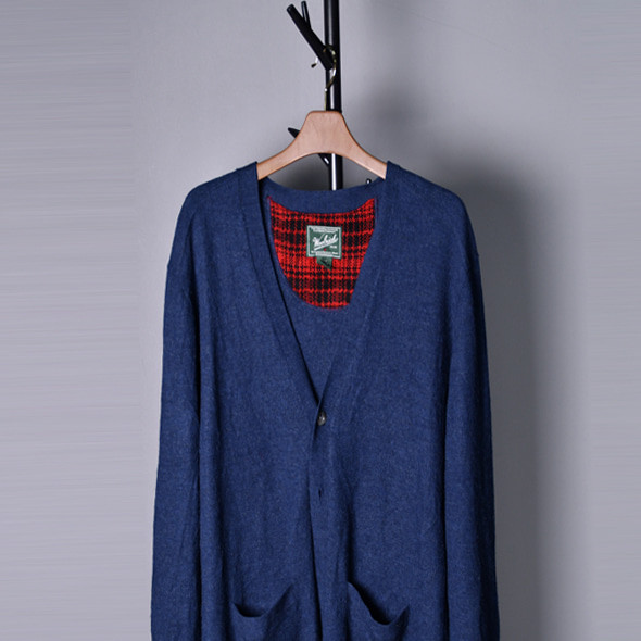 Wool rich Wool knit cardigans [XL]