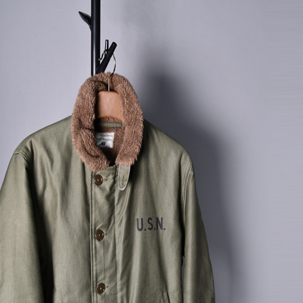 The real mccoy's Deck jacket usn n-1 [40]