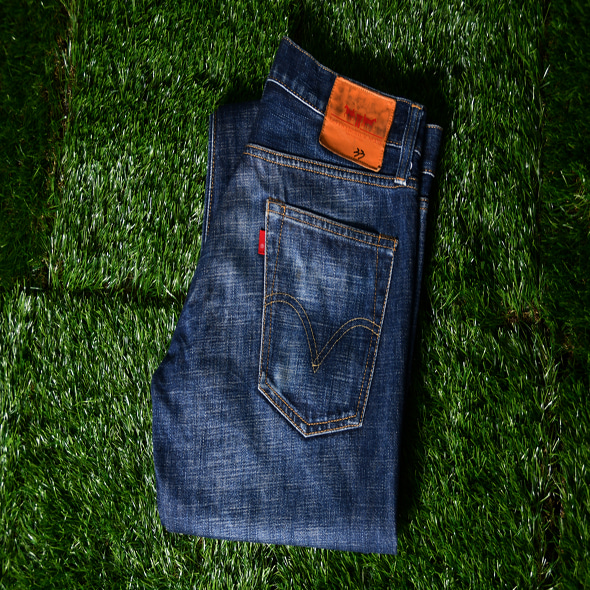 Levi's Premium low rise boot cut [W33,L32]