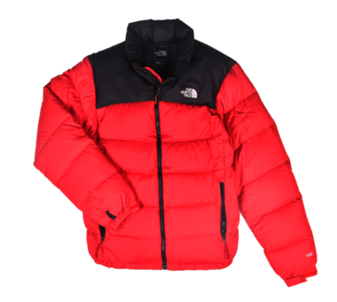 [THE NORTH FACE] WOMAN'S 700 NUPTSE DOWN JACKET BLACK/RED [S]