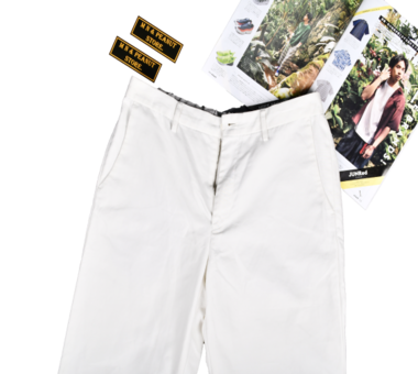 [UNITED ARROWS] White Easy Pants [L]