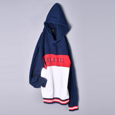 [F.C.R.B] F.C.Real Bristol 16ss Color Block Pull Over Sweat Parka [M]