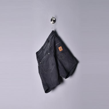 Carhartt wip 1/2 Black denim pants [W30,L32]