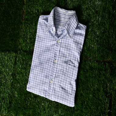 Beauty & youth united arrows 1/2 Check shirts [M]
